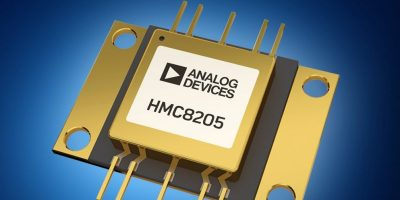 Mouser Electronics stocks Analog Devices' HMC8205 GaN power amp