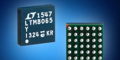 LTM8065 µModule regulator lowers EMI/EMC for robotics