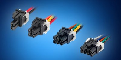 Mouser ships Molex's Mini-Fit TPA 2 power connectors and cable assemblies