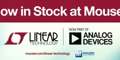 Mouser stocks Linear Technology portfolio from Analog Devices