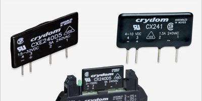 Solid state relays from Sensata Crydom cater for high density PCB applications