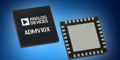 Mouser stocks Analog Devices GaAs ADMV10x converters