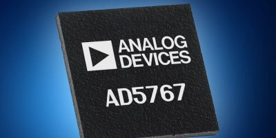 Mouser ships Analog Devices' AD5767 DAC for fibre-based systems