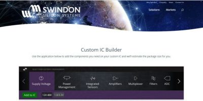 Swindon Silicon Systems helps designers build an ASIC solution