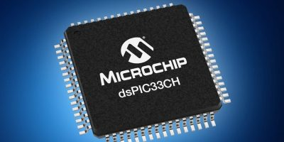 Mouser offers Microchip's dsPIC33CH for motor control