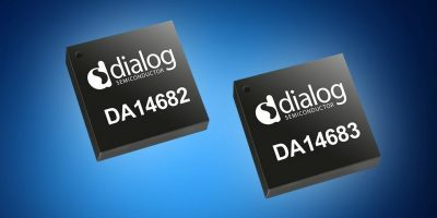 Mouser offers Dialog's DA14682 and DA14683 SoCs for Bluetooth 5