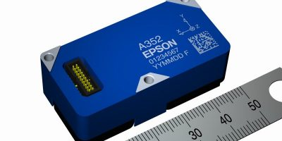 Three-axis accelerometer senses health of structures