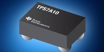 Mouser starts stocking TI ultra-low-dropout regulators