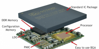 Octavo launches complete 1GHz computer in a 27mm package