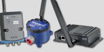 WAN nodes are rugged for intelligent industrial sensing