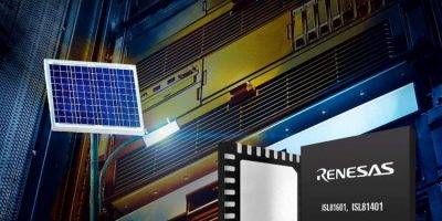 RS Components ships board to evaluate ISL81601from Renesas Electronics