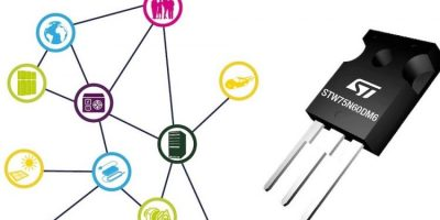 Super-junction MOSFETs minimise power dissipation