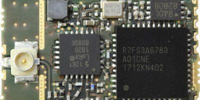 Compact LoRa module uses Renesas Synergy