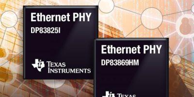 Ethernet PHYs optimise network performance