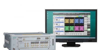 Four-channel oscilloscope halves cost per channel
