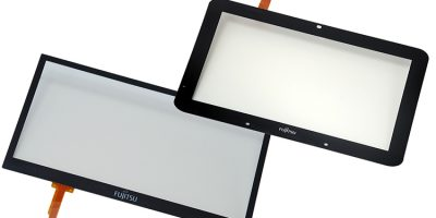 Fujitsu adds gentle resistive touch panels