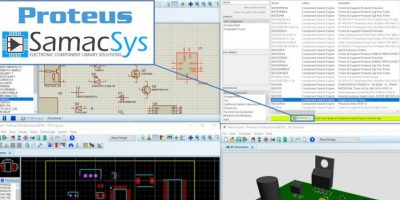 SamacSys introduces Labcenter's Proteus PCB software to library