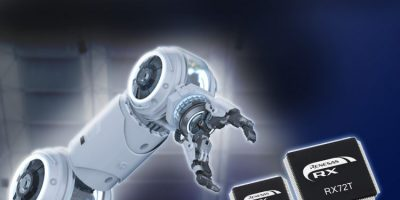 RX72T motor control MCUs serve industrial robots