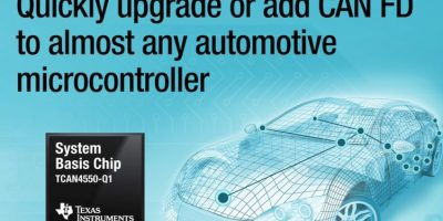 Automotive system basis chip has integrated CAN FD