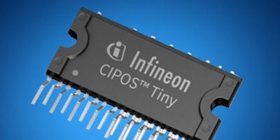 Mouser stocks Infineon's CIPOS inverter modules for motor drives