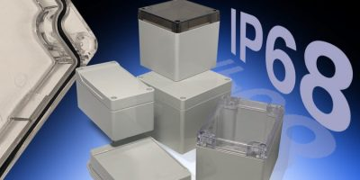 Hammond prepares for industry 4.0 with IP68 1554 and 1555 enclosures