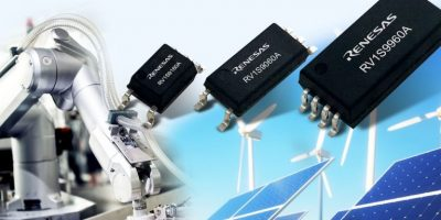 Trio of photocouplers drive industrial applications with lower power budgets