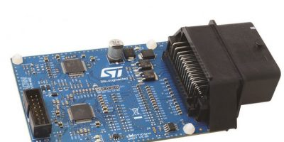 STMicro and Arrow Electronics team up for ref design for ECUs