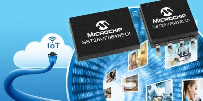 Microchip claims NOR flash is first to integrate MAC address options