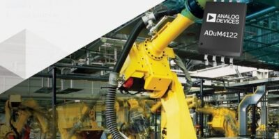 Isolated technology driver maximises power efficiency for industry 4.0