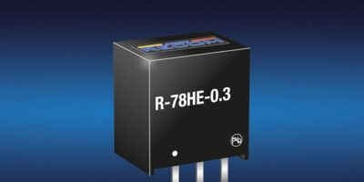 Switching regulator provides high input voltage range