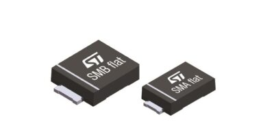TVS diodes protect in smaller packages