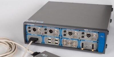 Interface module enables MEMS microphone array testing