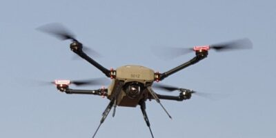 Micro-drone enables combat vehicle to gather intelligence