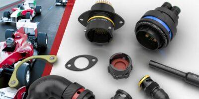 Lane Motorsport supplies Souriau 8STA circular connectors for weight savings