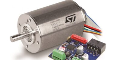 STMicroelectronics and Maxon collaborate on robotic motor control