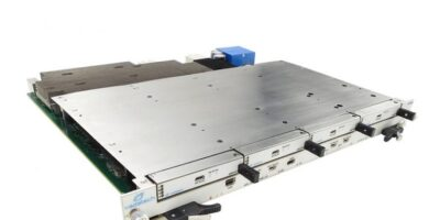 Network attached storage blade serves RAID and iSCSI