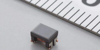 Ethernet common mode choke coil is AEC-Q200-compliant
