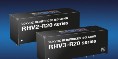 Recom introduces two DC/DC converters in a SiP16 package