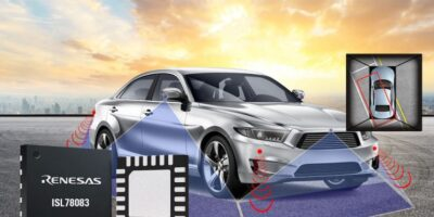 Renesas Electronics simplifies power design for surround view camera systems