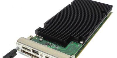 Versatile embedded AMC board has reconfigurable FPGA