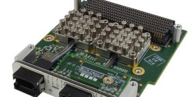 Fiber FMC+ module has two speed grades