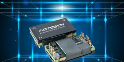 Components Bureau adds quarter brick DC/DC converter from Artesyn