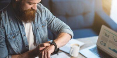 Bluetooth-enabled V-Sensor checks up on the wearer