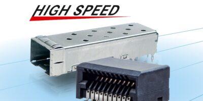 High-speed connector bridges data networking models