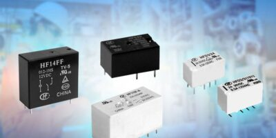 Hongfa Europe appoints Anglia to distribute industrial relays