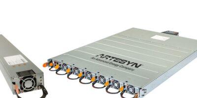 Open rack power shelf is designed for 48V data centre infrastructure