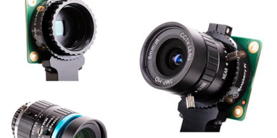 Farnell offers 12Mpixel Raspberry Pi camera with interchangeable lenses