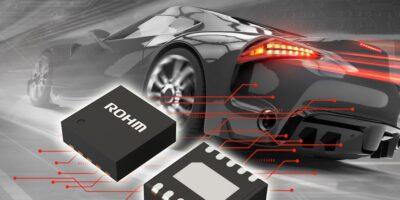Compact driver increases thermal management in automotive LED lamps