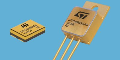 STMicroelectronics claims to offers first SEB-rated HV Schottky diodes