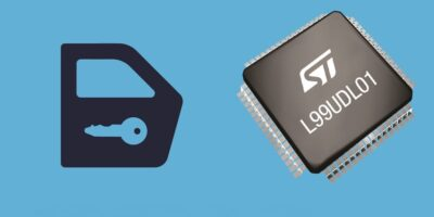 Door lock IC replaces multiple motor drivers for vehicle control